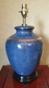 Porcelain Table Lamp Blue 3271/3546