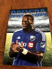 2016 Topps MLS Soccer Didier Drogba *Presence of the Pitch* Montreal Impact