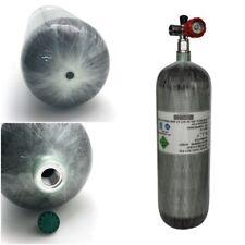 DOT High Pressure Air 6.8L/4500psi Cylinder Carbon Fiber Tank Paintball+Valve