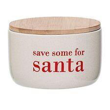 'Save some for Santa' ceramic storage jar by Danish designer Bloomingville