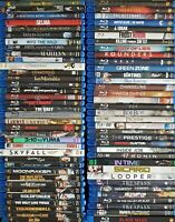 You Pick (+Free Movie!) - Lot of 5-20 Blu-Ray 's from 300+, Great Titles / cond.