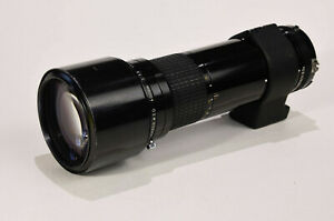 Nikkor 400mm f5.6 telephoto lens. Old School...Used but not abused, much loved..