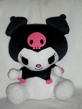 "Sanrio Kuromi Hello Kitty Large Soft Plush 12"" EUC Northwest Company"
