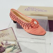 Just the Right Shoe Tassels Raine Peach Pearl