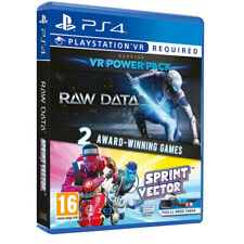 Raw Data and Sprint Vector Double Game Pack for PlayStation 4 PS4 VR (Ages 16+)