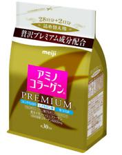 Meiji Amino Collagen PREMIUM powder for refill (214g) From Japan epacket New
