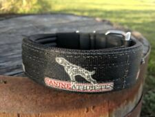 "New Canine Athletes Heavy Duty 1.5"" Nylon Padded Working Dog Collar Pit Bull"