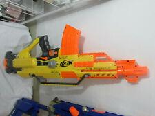 Nerf N-Strike automatic stampede ECS & banana magazine nice
