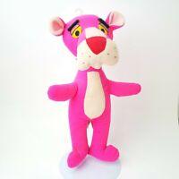 "Vintage PINK PANTHER Plush 1980 Mighty Star 13"" Cartoon Stuffed Animal"