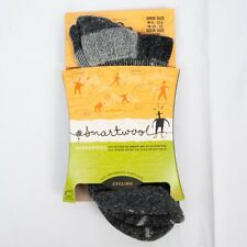 Smartwool DEAD STOCK Mid Crew Cycling 100% Wool Outdoors Mens Socks 9 - 12 1/2