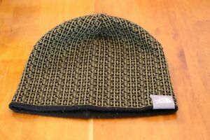 North Face Reversible Alpine Beanie Shallow Fit Olive/Black