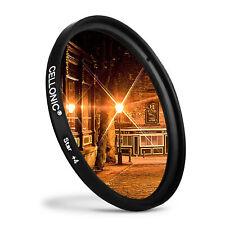FILTRO a stella 4 PT 58mm per Nikon AF-S DX NIKKOR 55–300 mm f/4 .5 –5.6 G ED VR