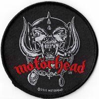 Official Merch Woven Sew-on PATCH Heavy Metal Rock MOTORHEAD War Pigs