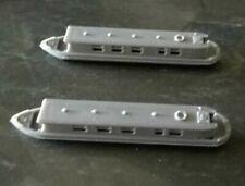 Z Gauge Leisure Model Railway Scenery River Canal boats x 2