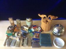 Vintage LOT CIGARETTE LIGHTERS RONSON IMCO CYGNUS ZIPPO ASR BRADFORD PRINCE