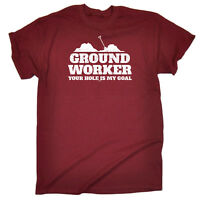 Funny Novelty T-Shirt Mens tee TShirt - Ground Worker