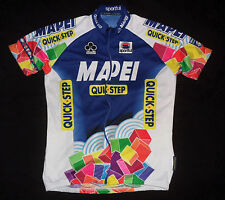 SPORTFUL TEAM ISSUE MAPEI QUICK STEP WORLD CUP Cycling Bike Jersey Men's L