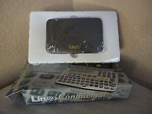Lingo Continental TR-9802 Electronic Language Translator