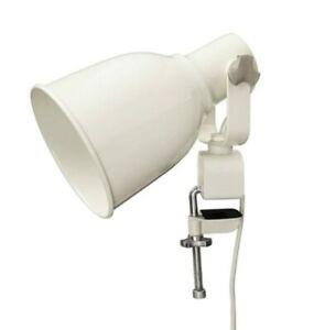 Ikea Hektar Wall Clamp Spotlight Clip-on Led Lamp Steel, Beige - New (no box)