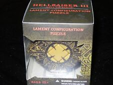 HELLRAISER REPLICA PUZZLE BOX (MOVABLE) Clive Barker Halloween Costume Mezco