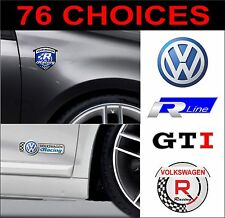 vw volkswagen golf polo lupo passat scirocco beetle gti r decals stickers