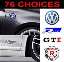 VW Volkswagen Golf Polo Lupo Passat Scirocco Beetle GTI-R Aufkleber