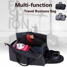 Men Business Duffel Gym Suits Sports Travel Bag Compartment Waterproof Tote