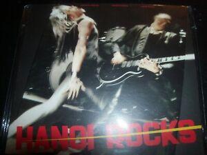 Hanoi Rocks – Bangkok Shocks, Saigon Shakes, Digipak CD – New (Not Sealed)