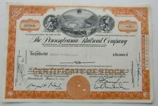Stock Certificate For The Pennsylvania Railroad Co.  1950  10 Shares (S155841)