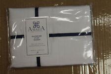 "Amalia Home Collection Standard Pillowcase 21""X 32"" Color:White Size:Queen"