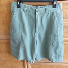Men's Tommy Bahama relax fit cedar green cargo shorts size 30 brand new NWT $88