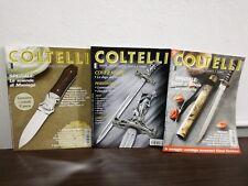 Rivista ''COLTELLI'' 3 riviste 2005 e 2007 Maniago Victorinox Buck Strider knife