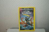 LIVRE LDVELH DONJONS & DRAGONS LA LAME DU SAMOURAI 9 SOLAR 1985 JDR LE HEROS
