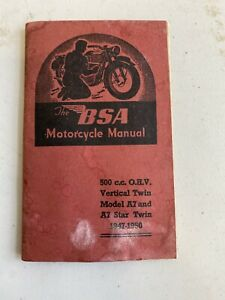 The Bsa Motorcycle Manual
