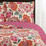 Paisley Floral Pattern Tamiya Oversized Coverlet Luxury Microfiber Wrinkle Free