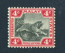 Lightly Hinged Malayan & Straits Settlements Stamps