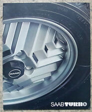 SAAB TURBO Car Sales Brochure 1978-79 #207068
