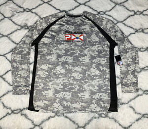 PELAGIC VaporTek Deerfield Digi Camo Long Sleeve Fishing Shirt Sz 2XL *NEW* $55