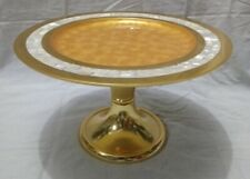 New Metal Gold Color 12 Inches Cake Stand For Decoration And Serving