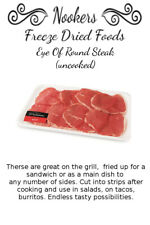 Freeze Dried Food - Eye Of Round Steak (uncooked) - Camping - Survival