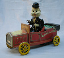 Battery Operated Old Time Car with Driver - Good Working Condition