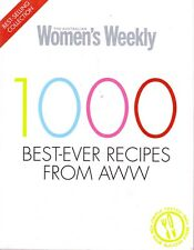 1000 Best-Ever Recipes From AWW By The Australian Women's Weekly (Paperback)