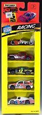 Matchbox Racing 5 Pack 1995 New Indy Racer, 1962 Corvette, Ford Thunderbird, Etc