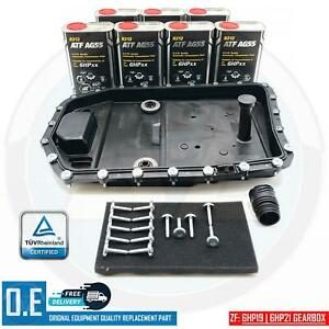 FOR BMW AUTOMATIC TRANSMISSION GEARBOX SUMP PAN FILTER 7L OIL KIT 6HP19 6HP21