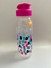 24 oz Plastic Sports Water Bottle with Flip-Top  - BPA Free