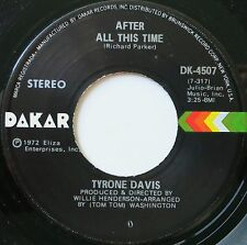 CHICAGO SOUL 45 TYRONE DAVIS ON DAKAR HEAR - IN D VERSAND KOSTENLOS AB 5 45S!