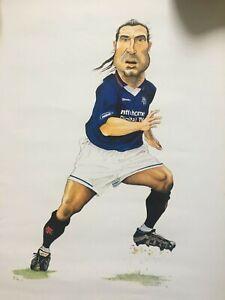 Lorenzo Amoruzo (Glasgow Rangers & Italy) Football Characture drawing.