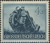 Stamp Germany Mi 874 Sc B258 1944 WW2 Army Motor Vehicle Tank Wehrmacht MNG