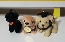 GUIDE DOGS AUSTRALIA PROMOTIONAL PLUSH TOY LOT 9CM TALL