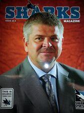 San Jose Sharks NHL hockey magazine program issue 23:4 2014 Todd McLellan coach